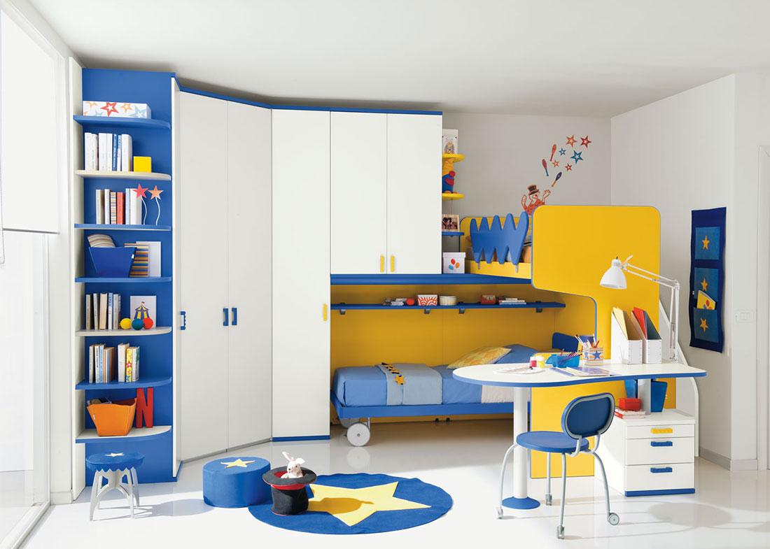 Camerette per bambini per ragazzi a ponte vendita - Pomelli per mobili bambini ...