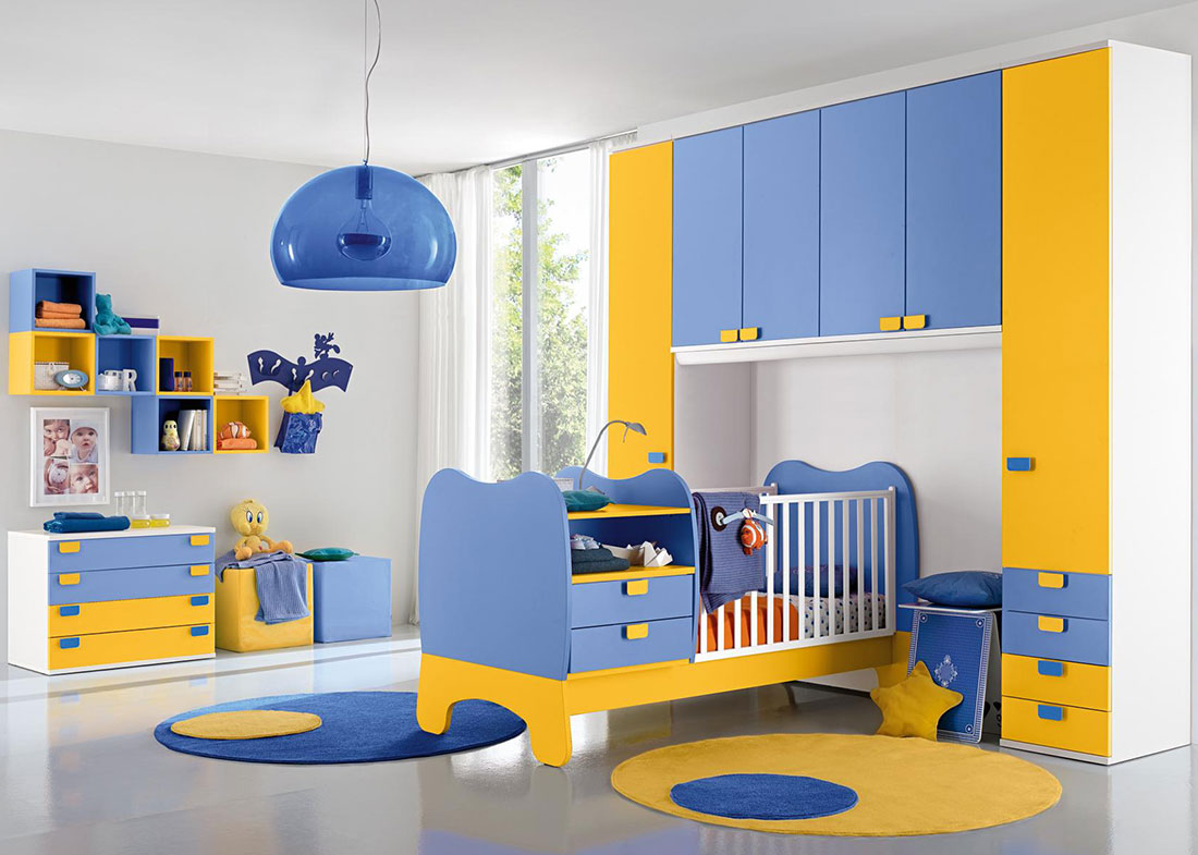 Camerette per bambini per ragazzi a ponte vendita camerette frosinone - Camerette colorate per bambini ...